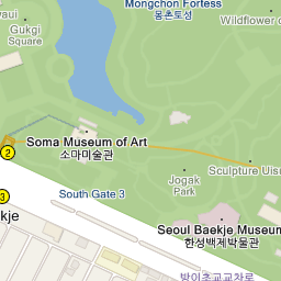 Seoul Subway Map 1989.Olympic Park 올림픽공원 Official Korea Tourism Organization